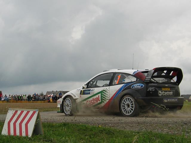 Rallye Deutschland '04 - FORD Focus WRC