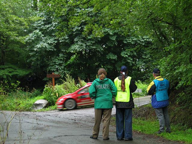 Rallye Deutschland '04 - Streckenposten