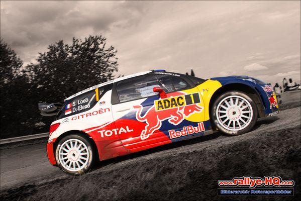 Rallye Deutschland 2012 / Panzerplatte
