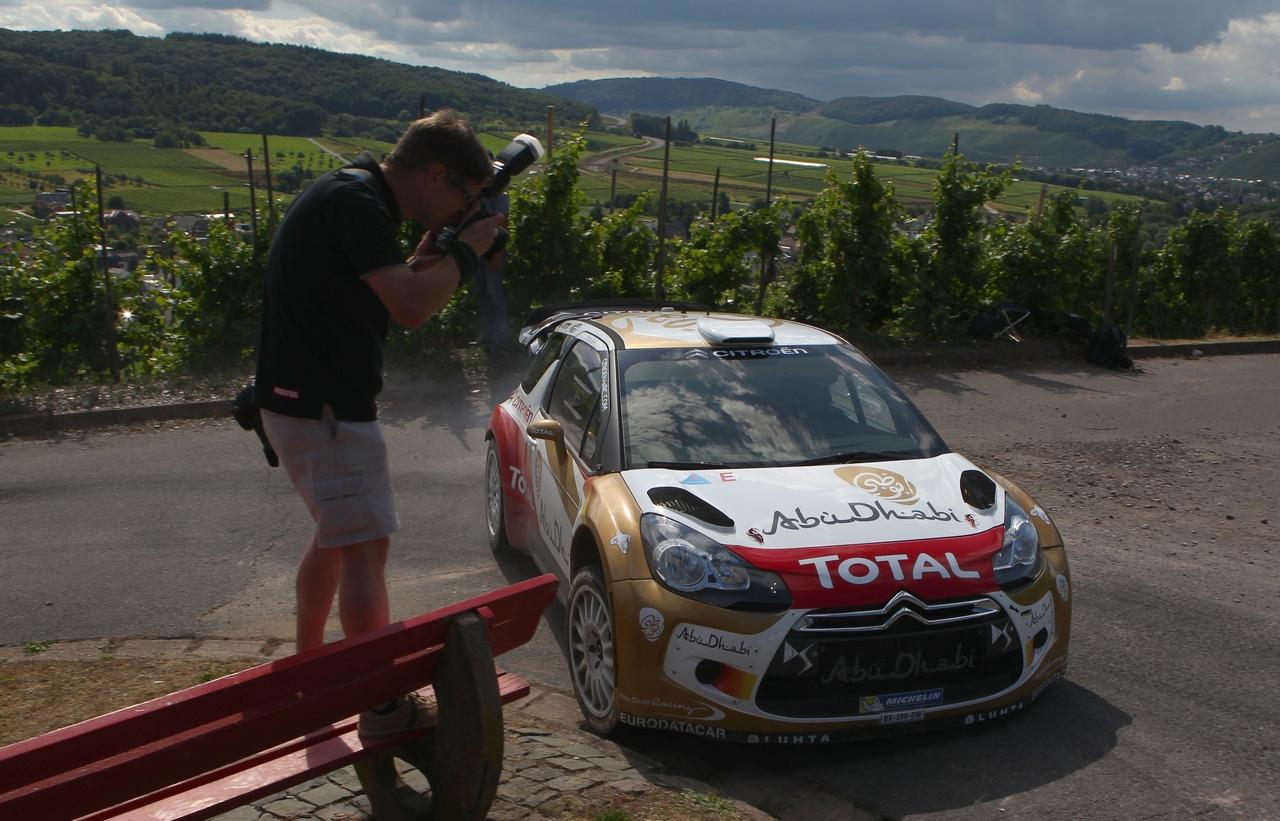 Rallye Deutschland Testfahrten in Kinheim