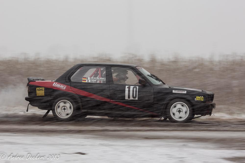 Rallye in Stade
