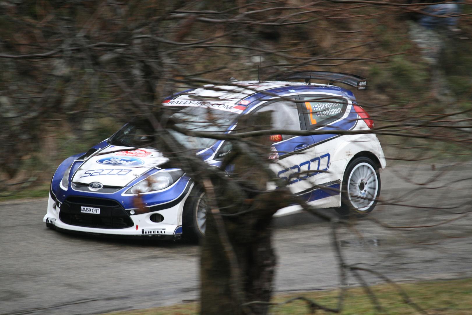 rallye monte carlo 2010: Hirvonen