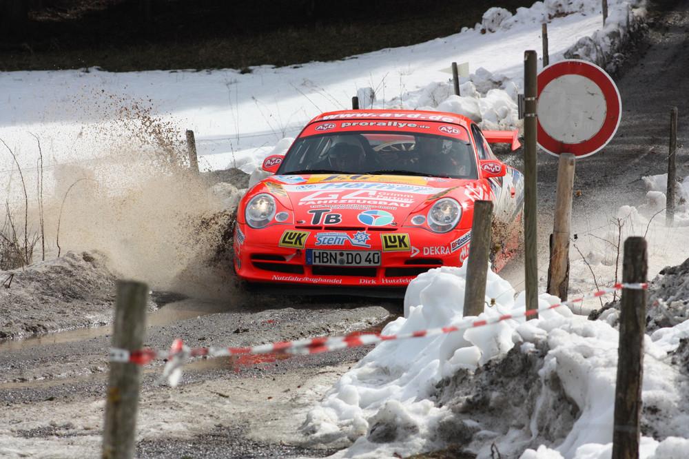 Rallye Oberland - 2009 / Olaf Dobberkau - Porsche 996 GT3 RS