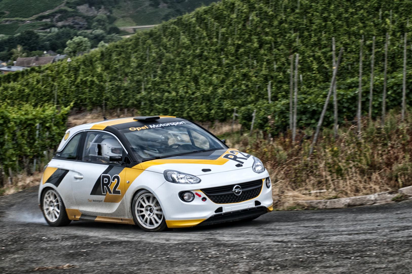 Rallye Opel Adam macht Dampf...