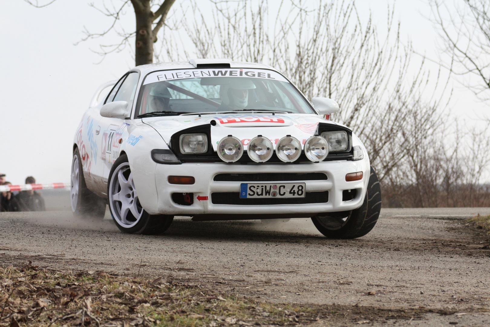 Rallye SÜW, Toyota kommt angeflogen ...