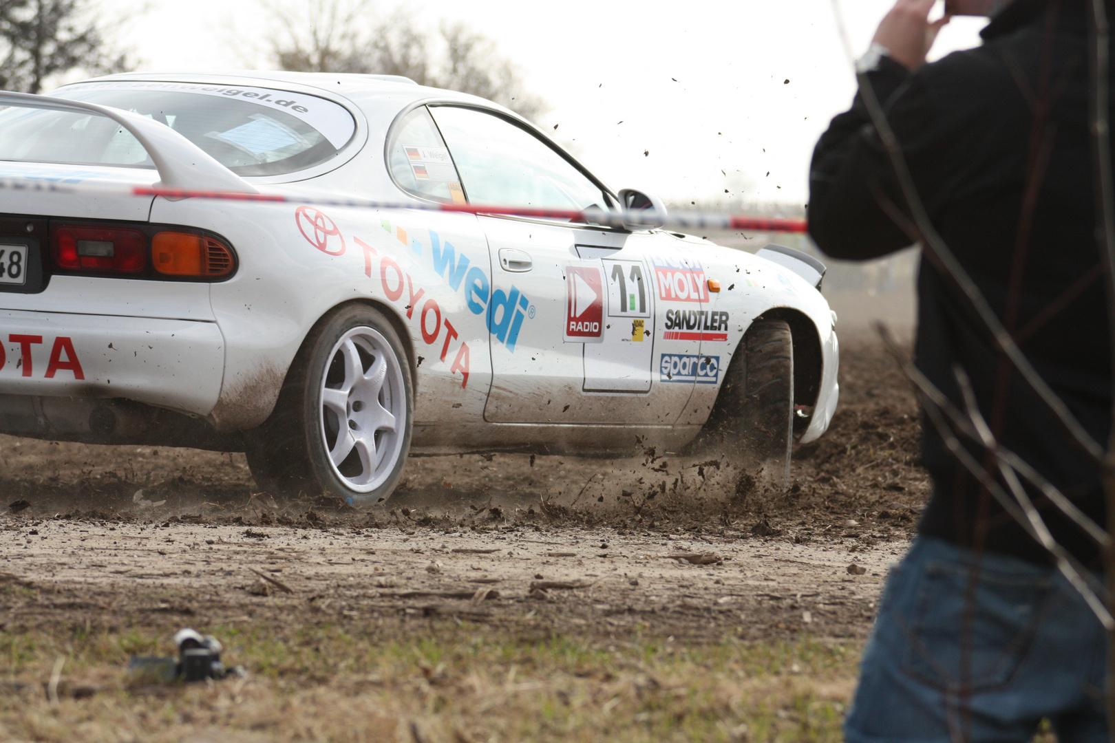 ... Rallye SÜW, Toyota, nicht so ganz ...