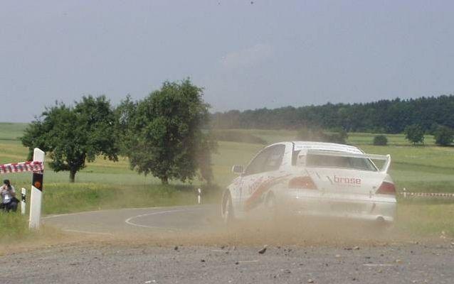 ...Rallye um die Veste Coburg...