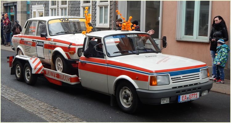 Rallyesport auf Wartburg