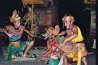 Ramayana-Tänzer auf Bali
