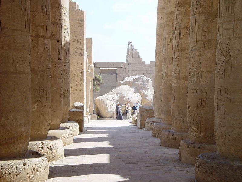 Ramesseum - bei Luxor II