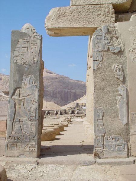 Ramesseum - bei Luxor III