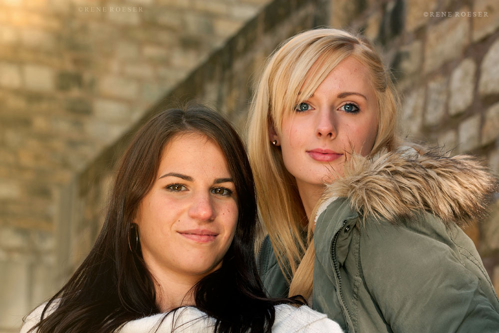 Ramona und Janine