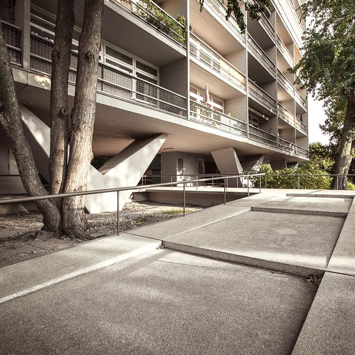 Rampe foto bild architektur berlin hansaviertel for Architektur rampe