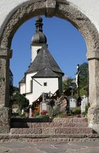 Ramsau - Eingang zum Dorffriedhof