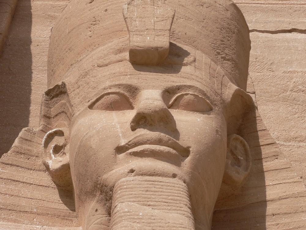 Ramses 2 sur le site d'Abou Simbel