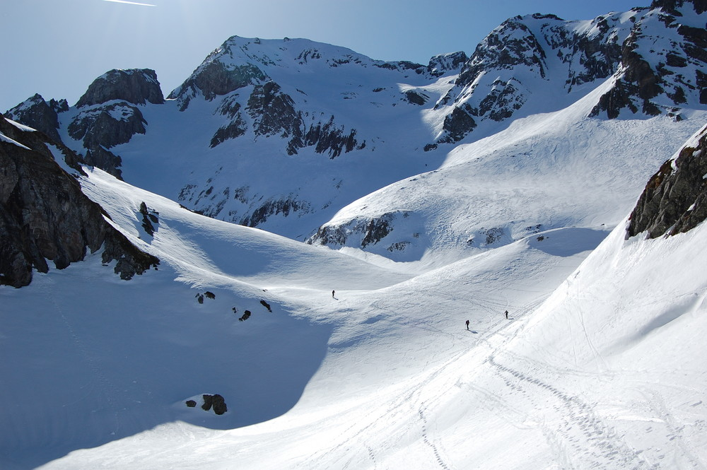 Rando ski au lurien