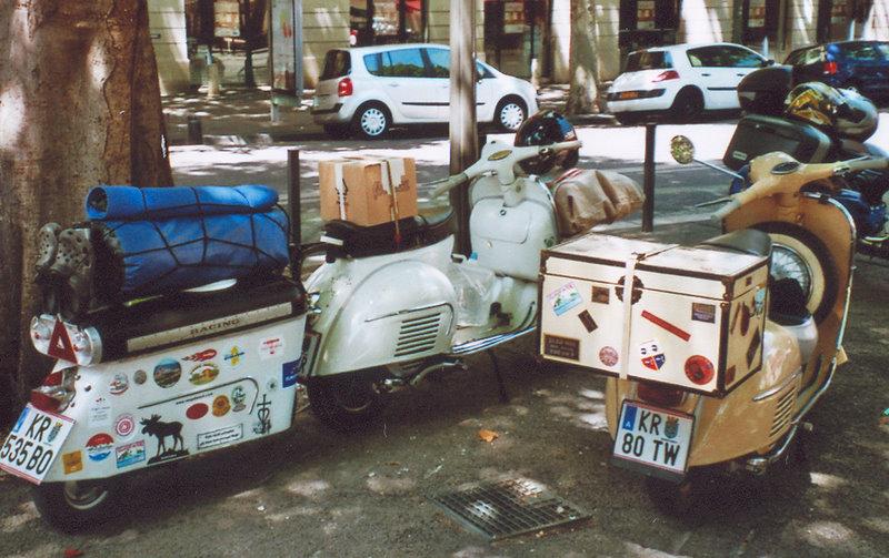 randonnée en scooter...