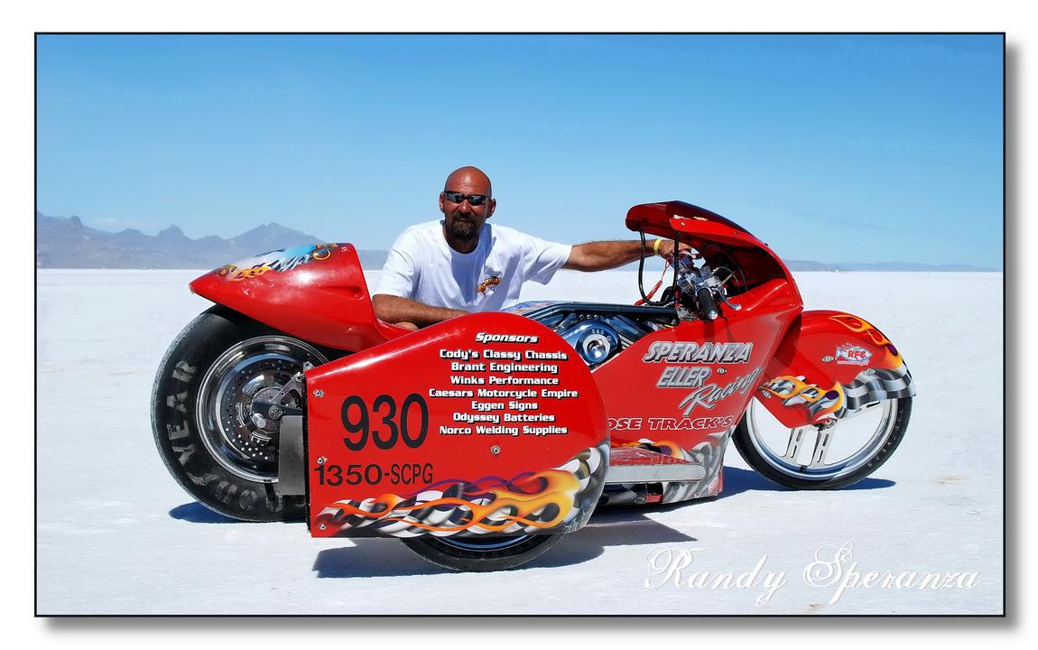 Randy Speranza, Bonneville Speedway