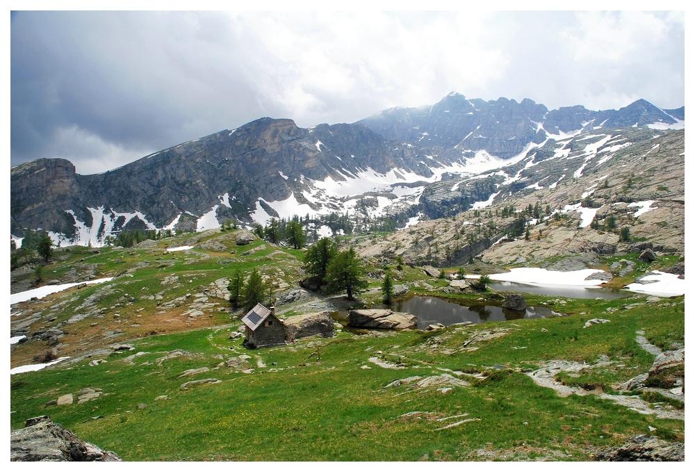 Rangerhütte im Fontanalbe Tal im Mercantour Nationalpark (franz. Seealpen)