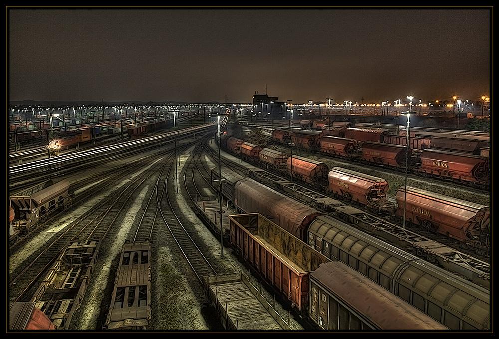 Rangierbahnhof (HDR+EBV)