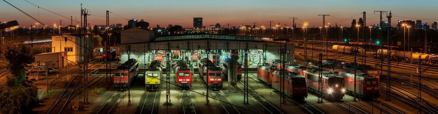 Rangierbahnhof Mannheim DRI