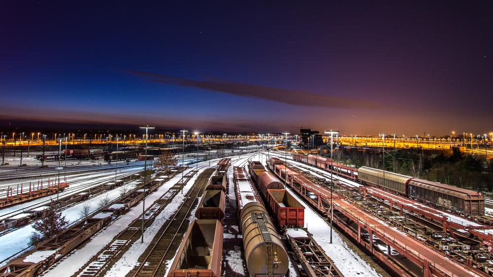 Rangierbahnhof Maschen Winter 2.1