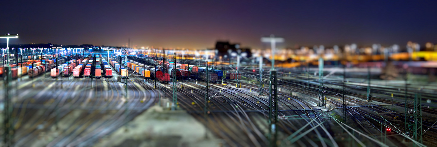 Rangierbahnhof Tilt Shift