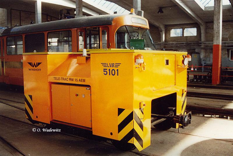 Rangierfahrzeug Tele-Trac 5101