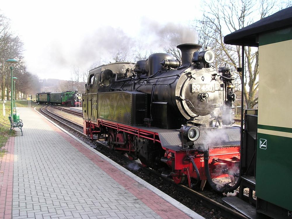 Rasender Roland auf Rügen - 2006
