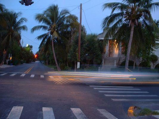 Raser auf Key West in der Nähe von Smathers Beach