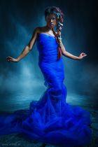 Rassamee in Blue