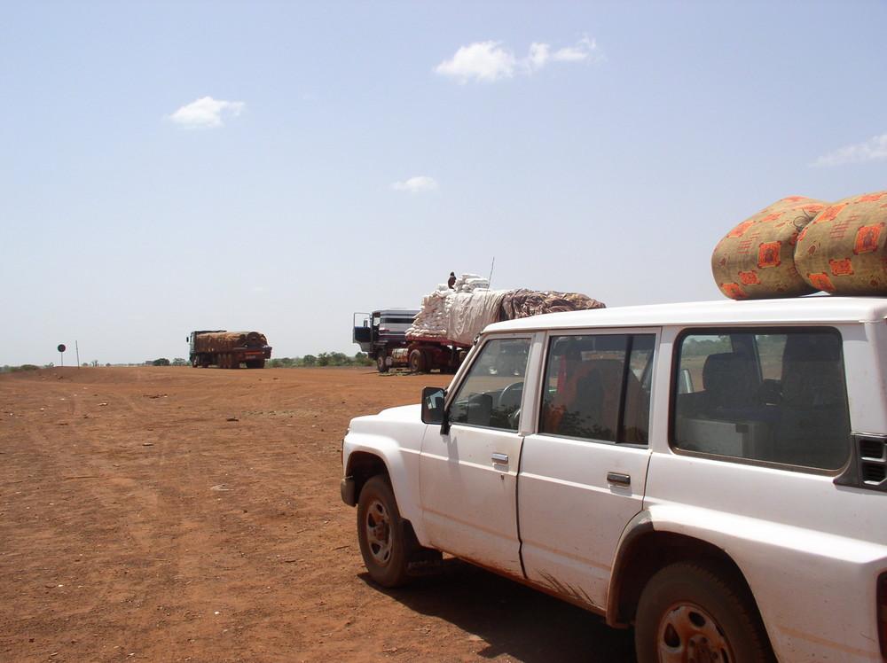 Rastplatz irgendwo in Mali