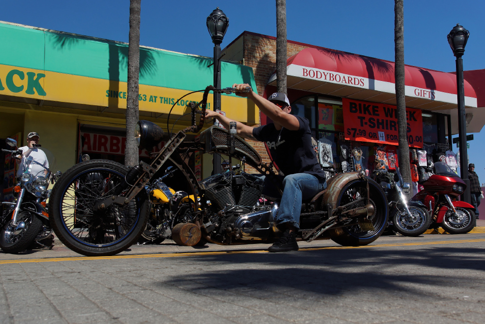Rat Bike - Daytona Beach Bike Week 2013