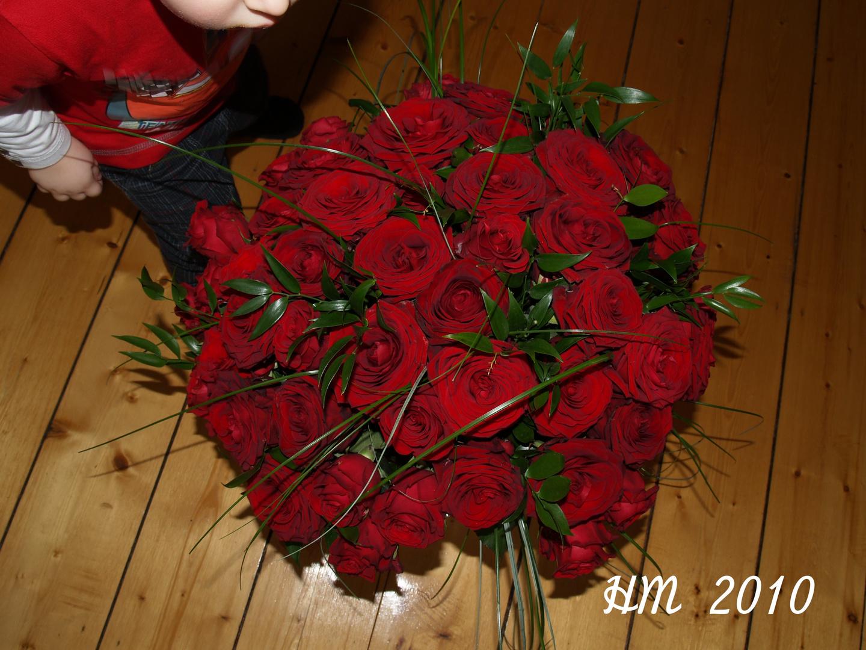 Ratet mal wie viele Rosen es sind ?