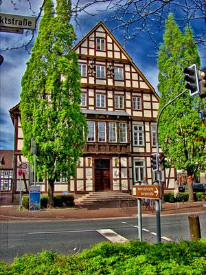 Rathaus 1 in Burgdorf (D)