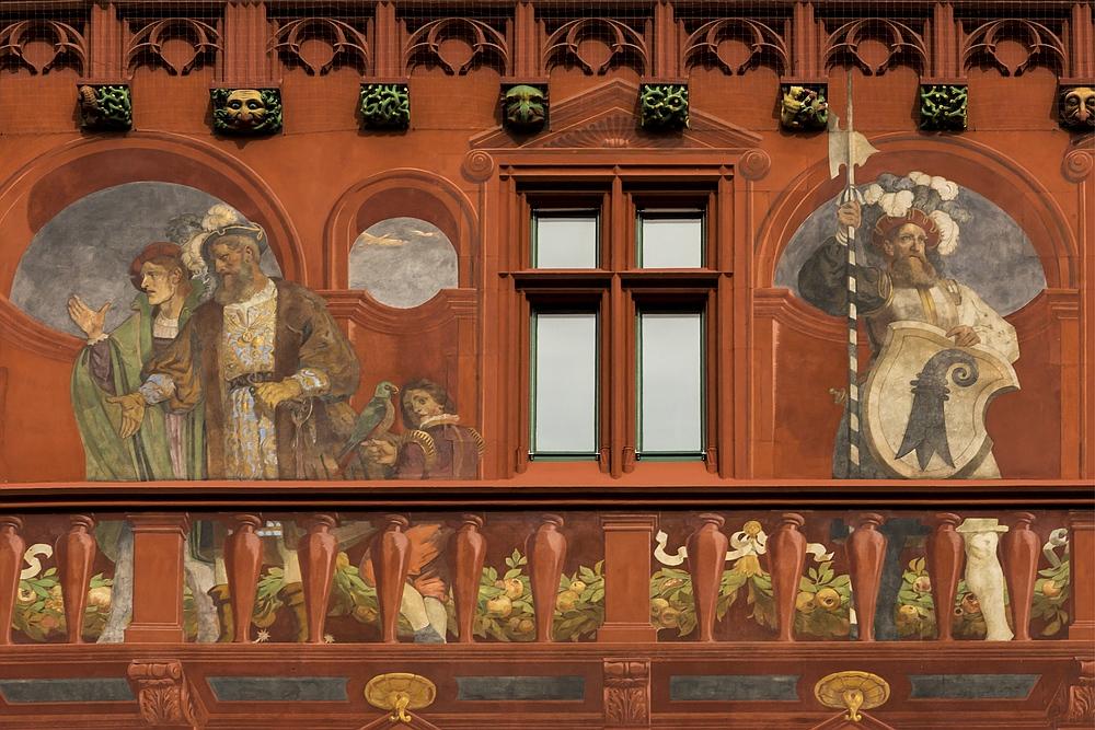 Rathaus Basel Fassadendetail