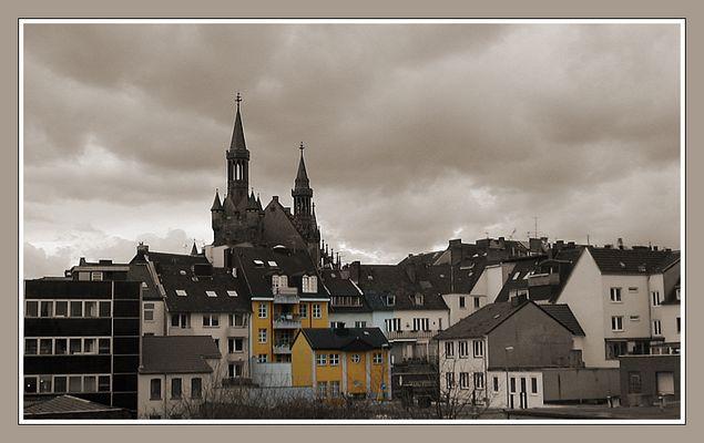 """""""Rathaus-Burg"""" zu Aachen"""
