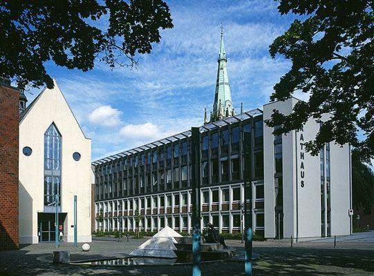 Rathaus Erkelenz mit Leonhards-Kapelle