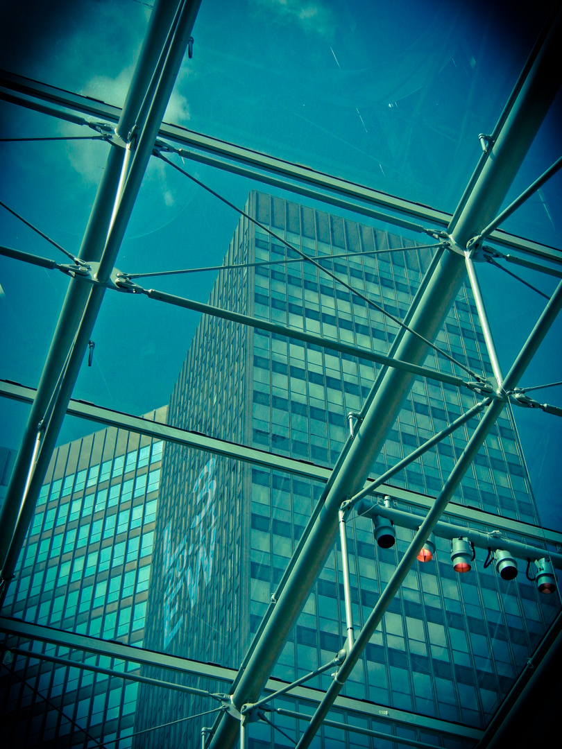 Rathaus Essen: Through Glass I