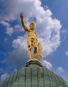 Rathaus-Figur Dresden