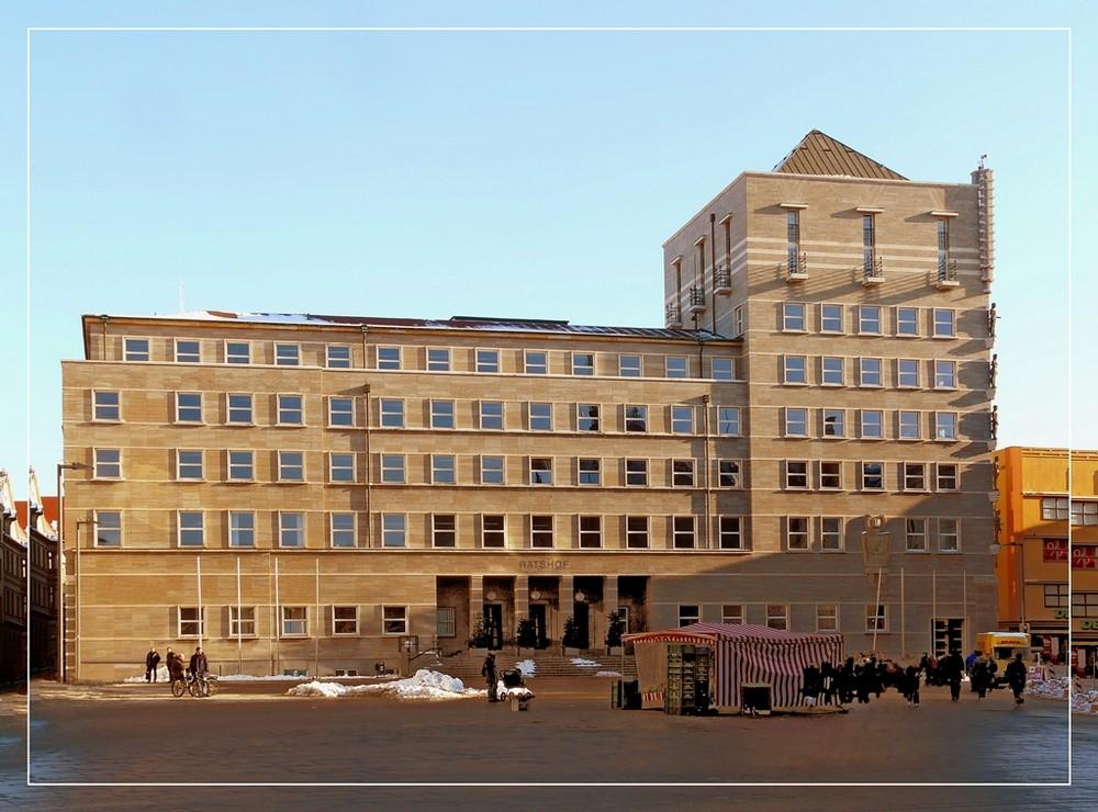 Rathaus Halle
