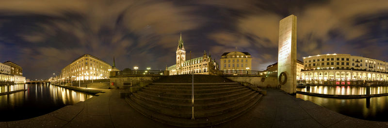 Rathaus Hamburg 360° IV