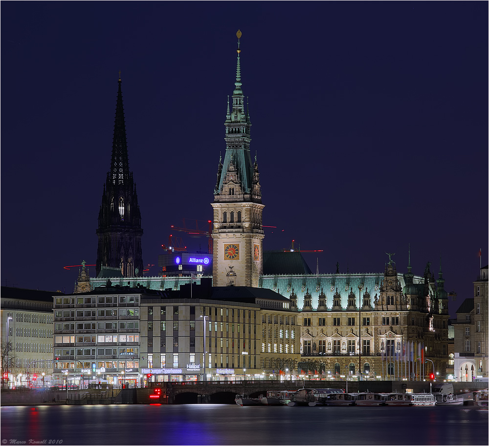 Rathaus Hamburg hier...