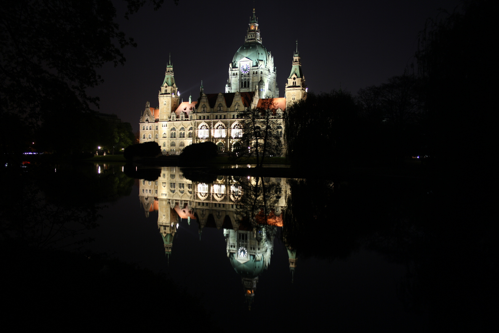 Rathaus Hannover by Night