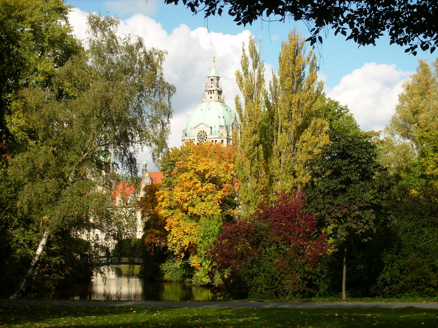 Rathaus Hannover im Oktober 2012