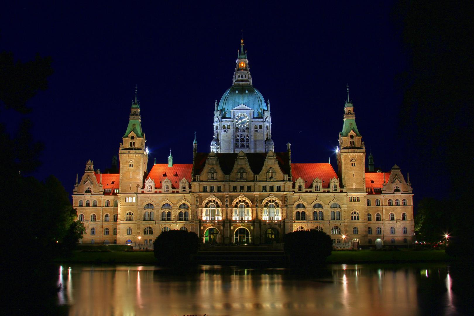 Rathaus Hannover (Rückseite)