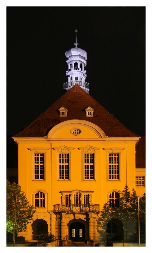 Rathaus Herford bei Nacht