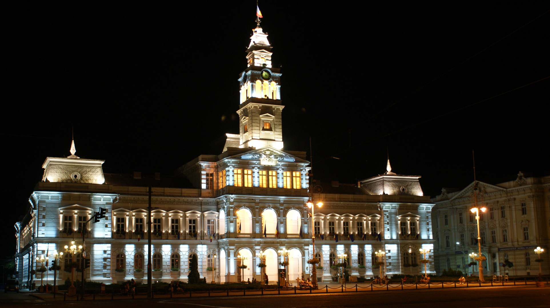 Arad Rumänien rathaus in arad rumänien foto bild architektur architektur bei