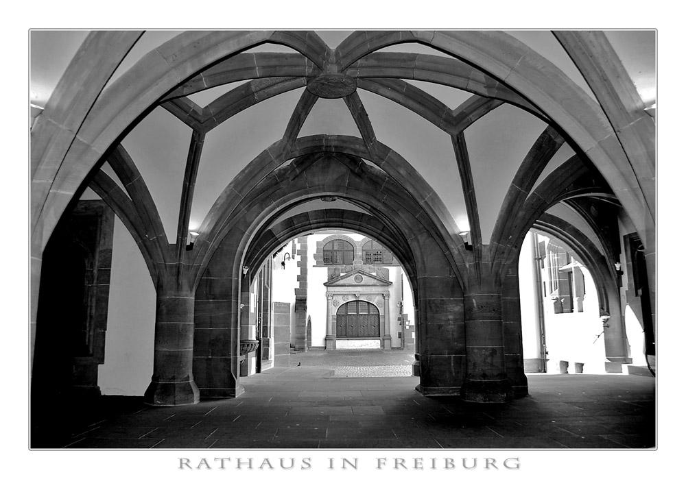 Rathaus in Freiburg