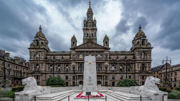Rathaus in Glasgow/Schottland